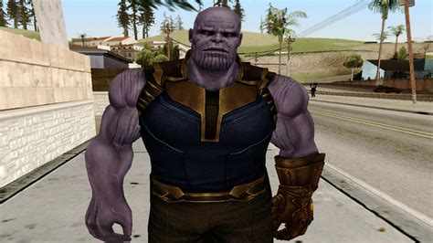 gta san andreas marvel future fight thanos infinity war
