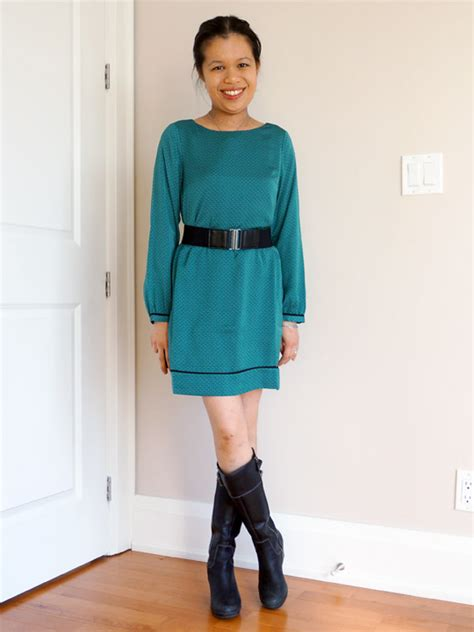 LOFT Dress with belt - The DelectablyChic! Closet