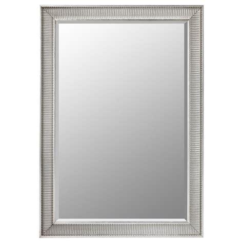 wood mirrors songe mirror silver colour 91 x 130 cm ikea