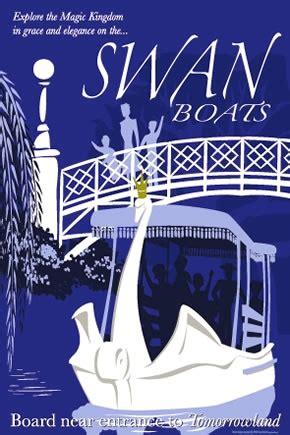 Swan Boats Closed by Plaza Swan Boats Walt Disney World Magic Kingdom