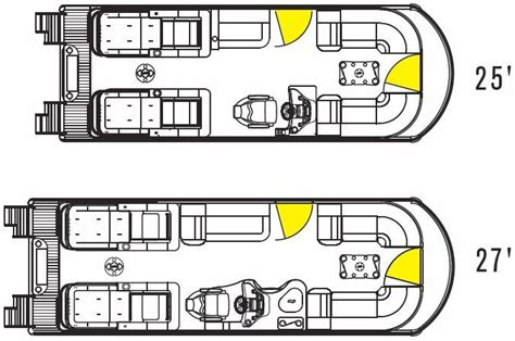 Electric Boat Vision Plan by Research 2013 Tahoe Pontoons Vision 27 On Iboats