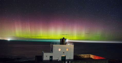 solar is underway with widespread auroras possible