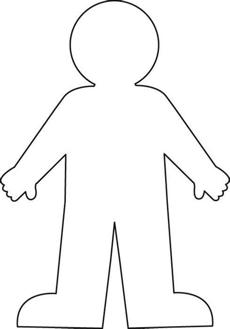 outline printable for use in units on all about me 804 | 5e1f88f0f94ad707d01d4ba88f9c488c