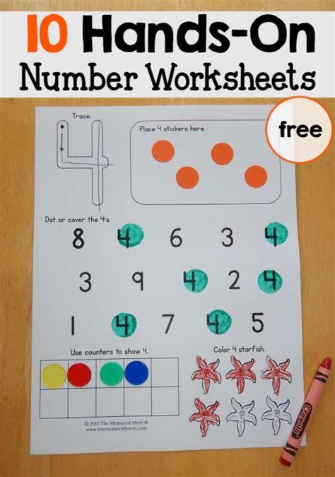25+ Best Ideas About Number Recognition Activities On Pinterest  Preschool Number Activities