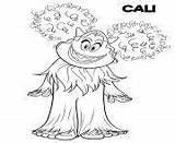 Yeti Coloring Compagnie Smallfoot Coloriage Printable Migo Dessin Cali Yet Yi Everest Meechee Movie Kolka Coloriages Adults Gwangi sketch template