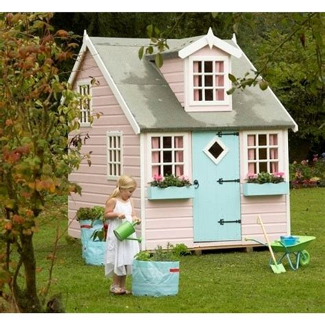 Fairytale Finish Georgian Home by Magical Wooden Fairytale Cottage Playhouse