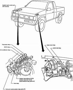 1995 Nissan Pick Up Wiring Harnes