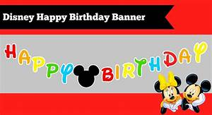how to make a diy mickey mouse clubhouse inspired happy With first birthday banner template