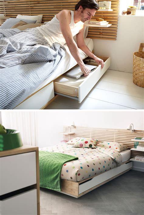 ideas    bed storage
