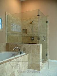 glass shower walls Orlando Frameless Shower doors-Bathroom Glass Enclosures ...
