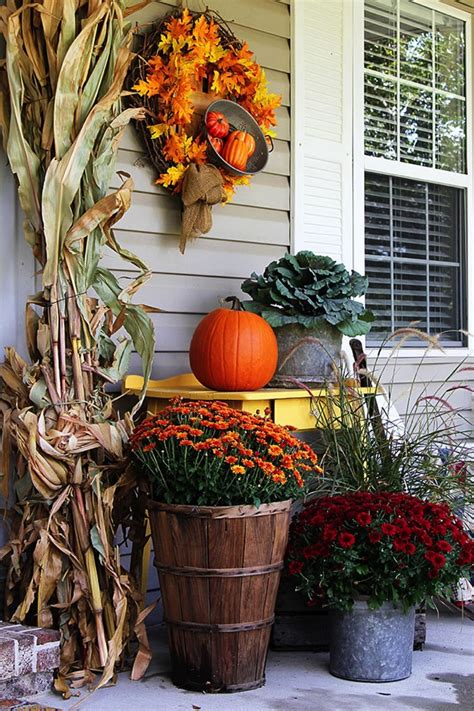 See more ideas about home diy, home projects, diy furniture. 10 Fall Porch Ideas