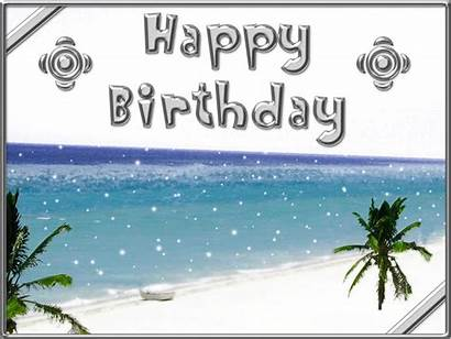 Happy Birthday Beach Clipart Water Wishes Shinning