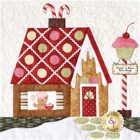 shabby fabrics gingerbread sew crafty angel holiday quilt blocks