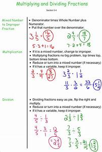Multplying And Dividing Fractions - 7th Grade Pre-algebra