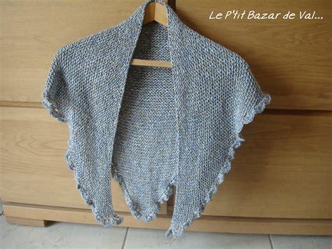 petit chale en tricot le p bazar de val etc