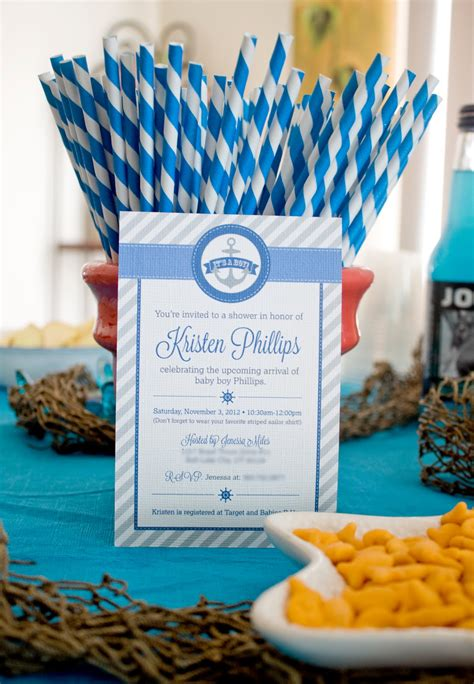 Baby Shower For - nautical baby shower j photography design
