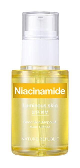 Nature Republic Good Skin Ampoule Niacinamide ingredients ...