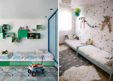 deco chambre jumeaux partager une chambre d 39 enfant les lits jumeaux