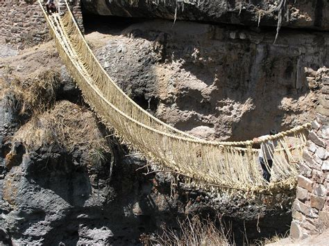 A Dozen Indigenous Craftsman From Peru Will Weave Grass Into A 60-foot Suspension Bridge In