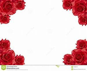 Red rose frame stock photo. Image of gift, invitation ...