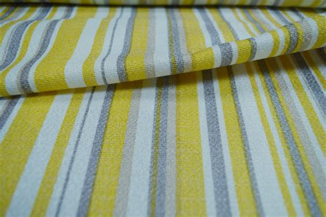 Material For Curtains Uk by Yellow Striped Curtain Material Curtains Fabx