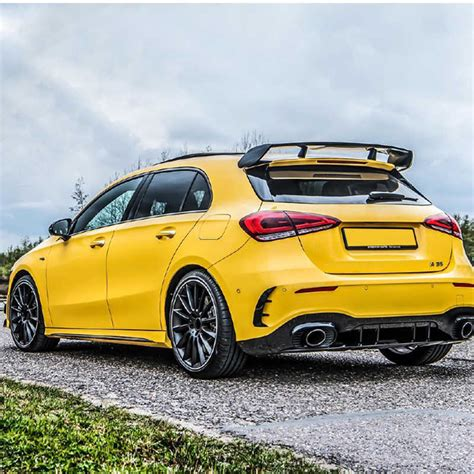 It has gcc specs and seats 5 people. For Mercedes Benz W177 Hatchback A Class A180 A200 A250 A260 & A45 AMG 2019 2020 ABS Plastic ...