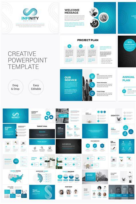 infinity modern powerpoint template