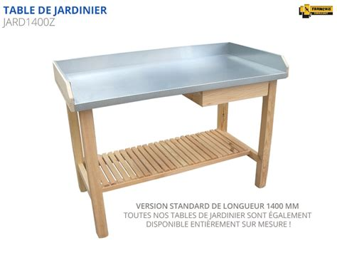 table de cuisine en pin table de jardinier table de rempotage etablis françois