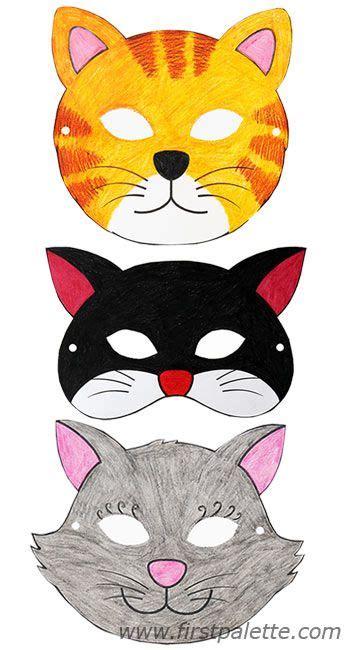 cat masks    printable animal masks