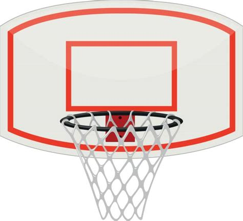 basketball hoop backboard clipart royalty free basketball ring clip vector images