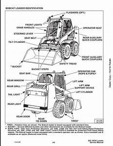 Bobcat 853 853h Skid Steer Loader Service Manual Pdf
