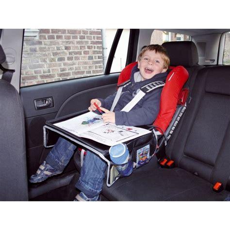 siege auto avec tablette tablette plateau siège auto de voyage enfant aquacars