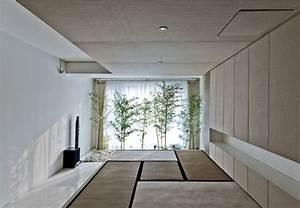 jardin interieur japonais With jardin japonais interieur maison