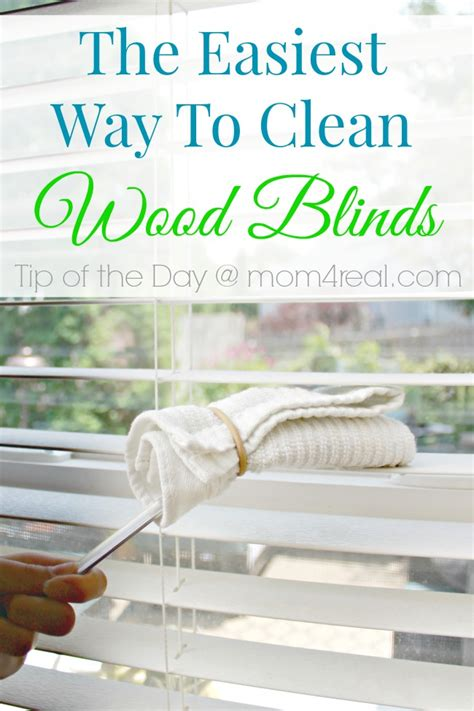 easiest way to clean wood blinds the easy way to clean wood blinds tip of the day 4