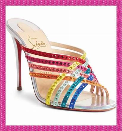 Sandals Ootd Rainbow Sandal Louboutin Christian Jewel