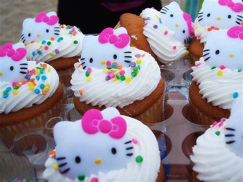 Dolci Di Compleanno Per Bambini, I Cupcakes Di Hello Kitty