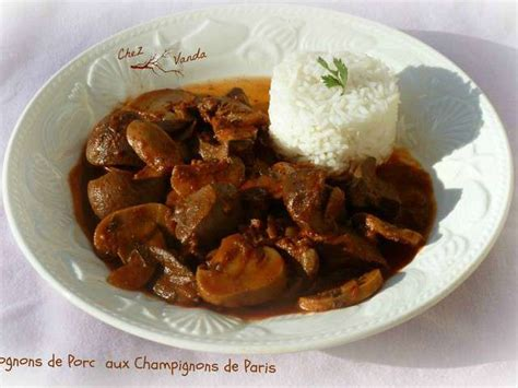 cuisiner rognons de porc recettes de rognons de porc