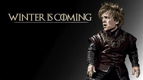 game  thrones winter  coming tyrion lannister