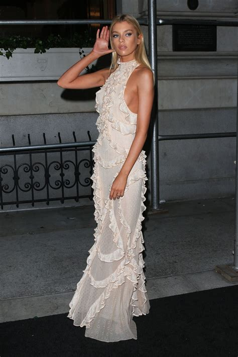 Stella Maxwell – Outside Harper's Bazaar Icons Party in ...