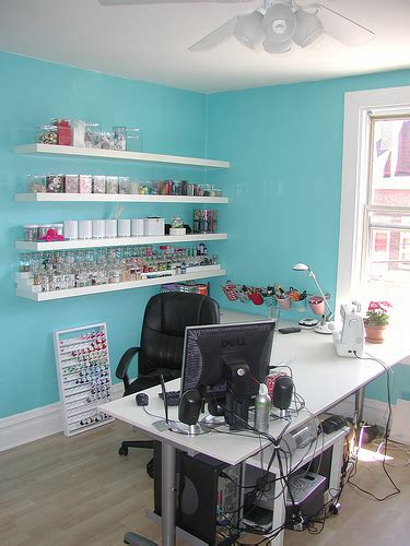 Hot Interior Paint Colors, Craft Room