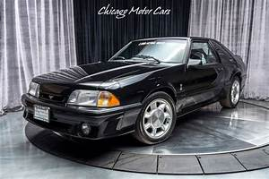 1993 Ford Mustang SVT Cobra Coupe EXCELLENT CONDITION! ONLY 7,800 MI Black - Classic Ford ...