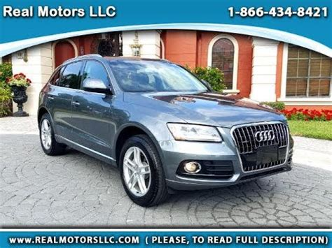 2016 Audi Q5 Premium Plus W 4k Miles In Clearwater Fl