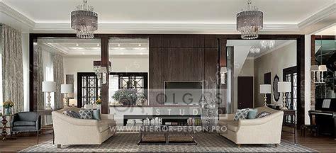 симметрия в интерьере гостиной в стиле арт деко olga s studio interior design