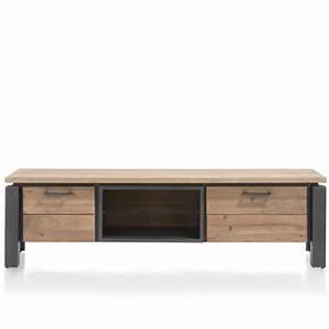 Tele 180 Cm : meuble tv industriel ~ Teatrodelosmanantiales.com Idées de Décoration