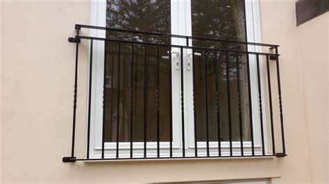 Juliet Balcony by Wrought Iron Gates And Railings Compton Welding