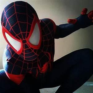 miles morales ultimate spiderman cosplay 2 by ultimateEman ...