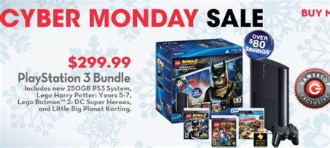 gamestops exclusive cyber monday ps bundle