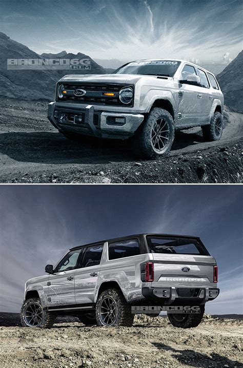 ford bronco concept puts modern twist  classic