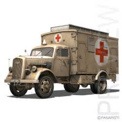 opel blitz 3d opel blitz ambulance model