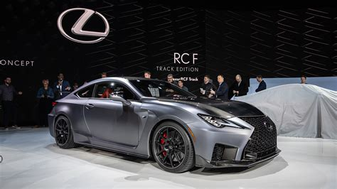 lexus rc  track edition loses weight adds power